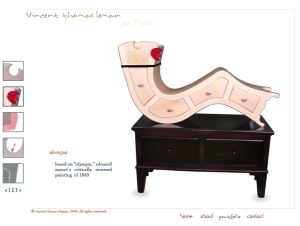 Curvy furniture